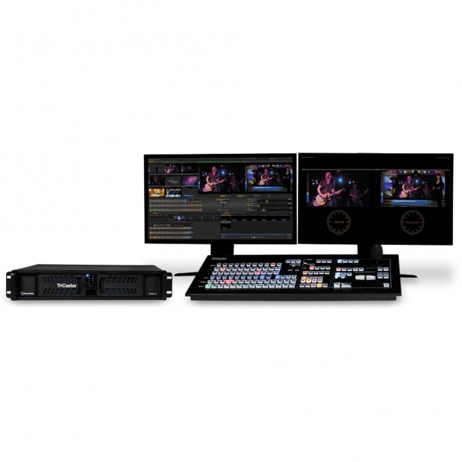 NewTek Trade Up from TriCaster DUO Educational to 455 Educational