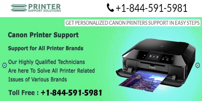 Canon Printer Support Number Can Ensure to Overcome All Printer Related Hitches