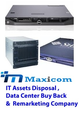 Maxicom buys old  second hand servers