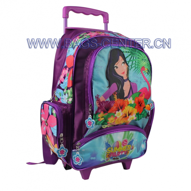 Student Trolley School Bag