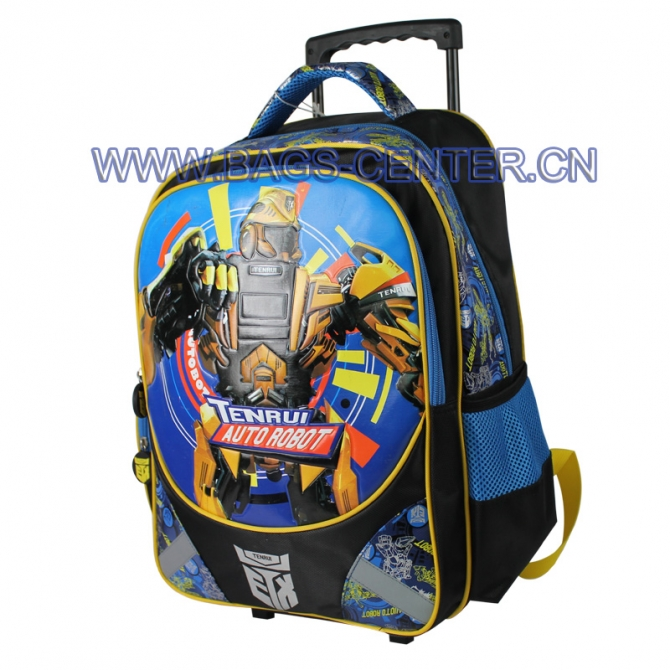Transformers Trolley School Bag
