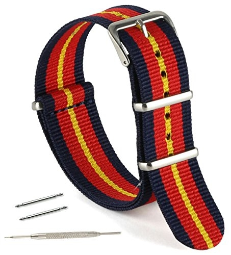 Huge collection of nylon NATO straps for all watch faces, fitness devices and bezels