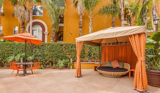 enjoy Mediterranean-style living in a prime LA location.