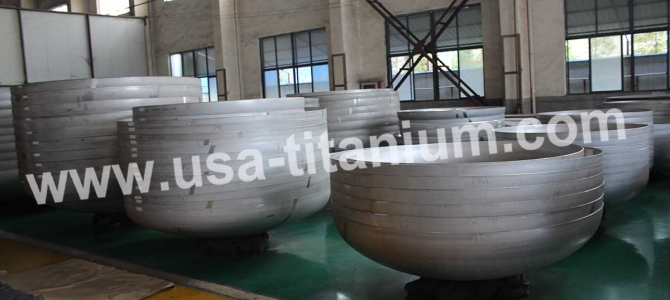 USTi Titanium Elliptical Head  Spherical Head