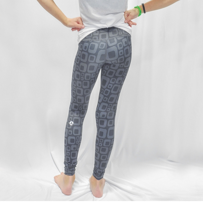 Retro Greyed Youth Leggings - At Justlive