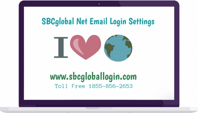 For sbcglobal .net mail settings call @ 1-855-856-2653