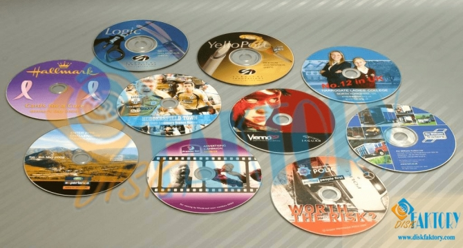 CD printing, DVD duplication and replication service at its best by DiskFaktory