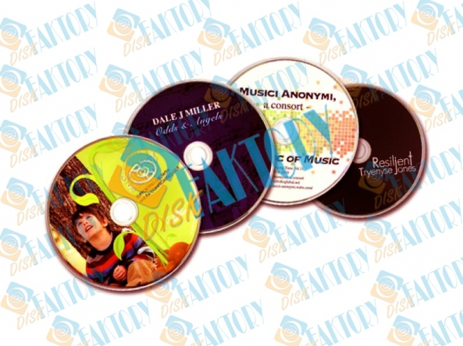 Cd replication service in USA for indie musicians by DiskFaktory