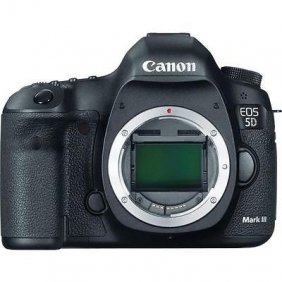 Canon EOS 5D Mark III 22.3 MP Digital SLR Camera - Black