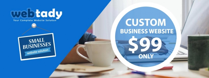 Limited Time Offer Get Small Business Website at only $99