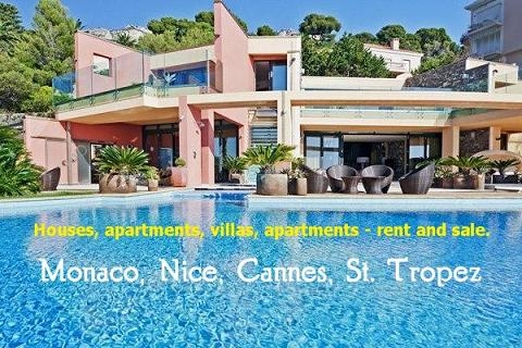Villas for rent in France and Monaco