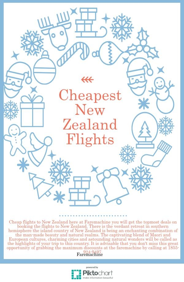 Cheap flights to New Zealand