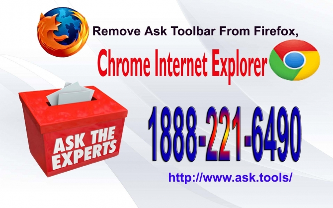Remove Ask Toolbar from Firefox, Chrome and Internet Explorer