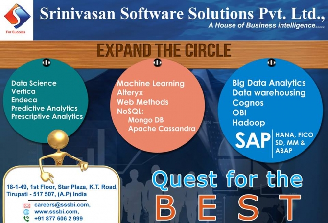 Srinivasan Software Solutions Pvt Ltd.- A key for Success