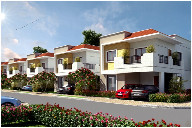 Villas in Sarjapur, Luxury Villas in Bangalore