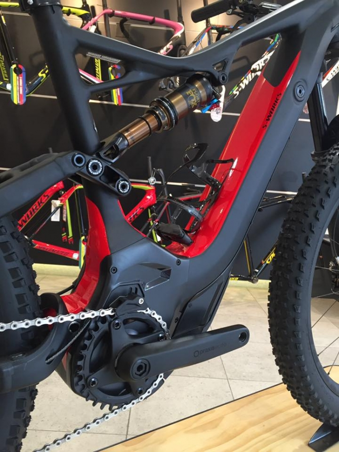 2017 Specialized S-Works Turbo Levo FSR 6Fattie