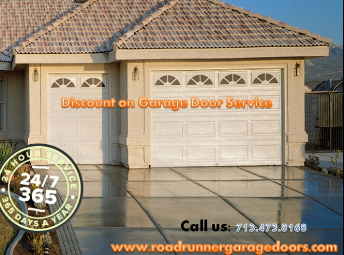 Overhead Rollup Garage Doors Installation Houston, TX