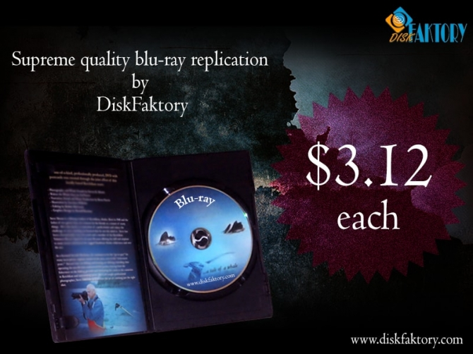 Get Genuine Blu-ray replication and duplication Services from Disk Faktory