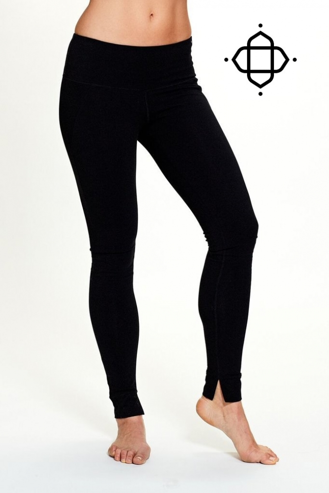 Organic cotton leggings from Satva