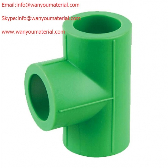 Sell Plastic Pipe Fitting - PPR Pipe Fitting - Tee info@wanyoumaterial.com