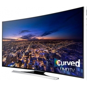 Cheap Samsung UHD 4K HU8700 Series Curved Smart TV - 55 Class