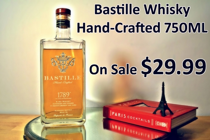 Bastille Whisky Hand-Crafted 750ML