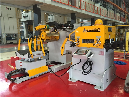 3 in 1 compact uncoiler straightener feeder combination