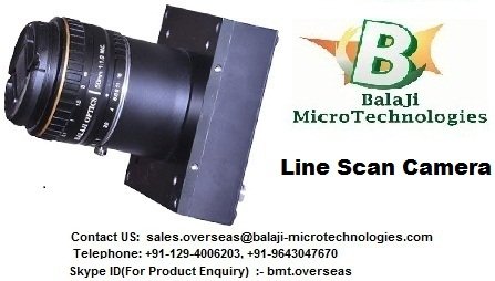 Line Scan Cameras-BalaJi MicroTechnologies BMT