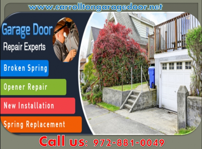 Get 247 hour Garage Door Installation Service in Carrollton
