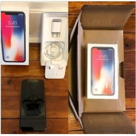 Apple iPhone X, Fully Unlocked 5.8, 256 GB Space Gray NEW-SEALED