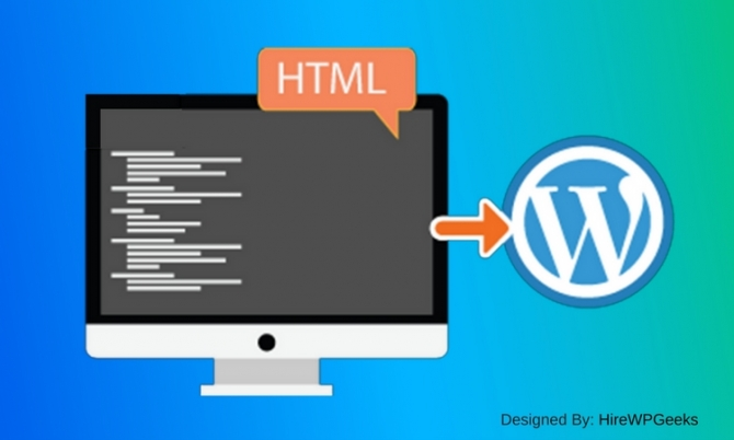 Efficiently Convert HTML Website To WordPress Theme-HireWPGeeks