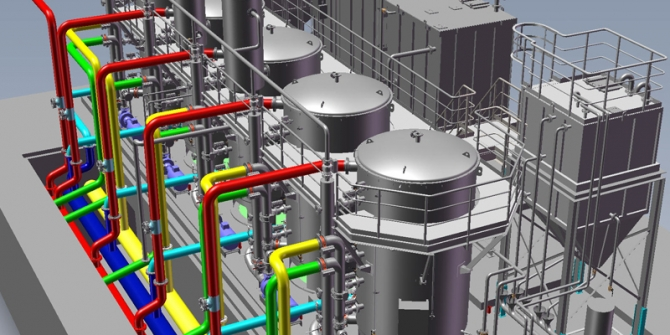 HVAC 2D Drafting Services - CAD Outsourcing