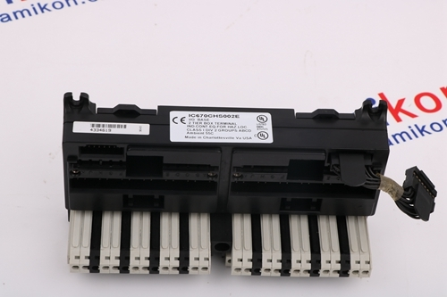 GE GENERAL ELECTRIC	IC697CHS783