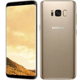 Samsung Galaxy S8 Plus G955FD 6.2-Inch 4GB64GB LTE Dual SIM Unlocked Gold