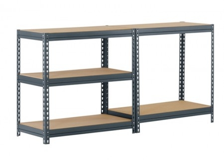 Light Duty double rivet shelving Rack