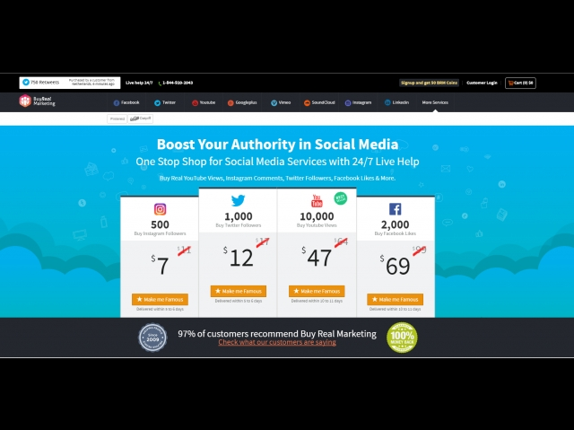Boost Your Social Media with Buy Real Marketing