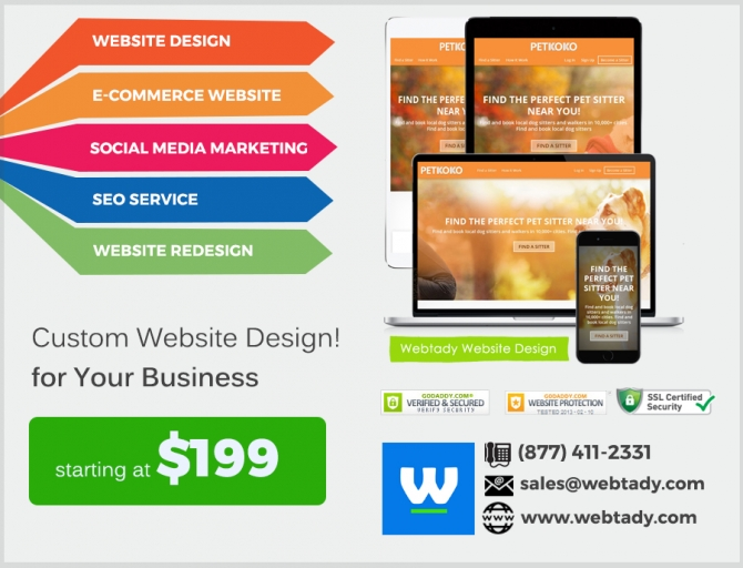 Top Rated Website Design Service Online At Low Cost - Best Deals