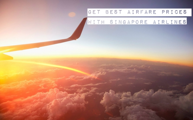 Best Airline Ticket Prices With Singapore Airlines I 8447076838