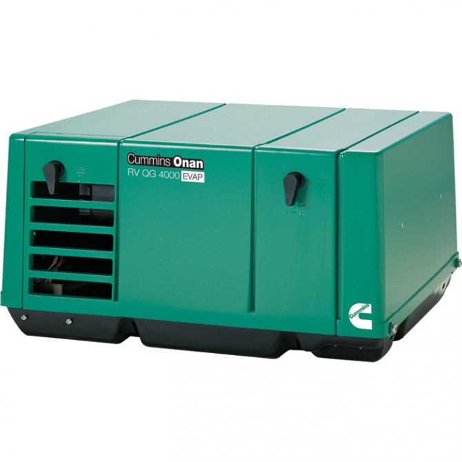 CUMMINS ONAN QUIET SERIES GASOLINE RV GENERATOR  4.0 KW CARB AND EPA COMPLIANT