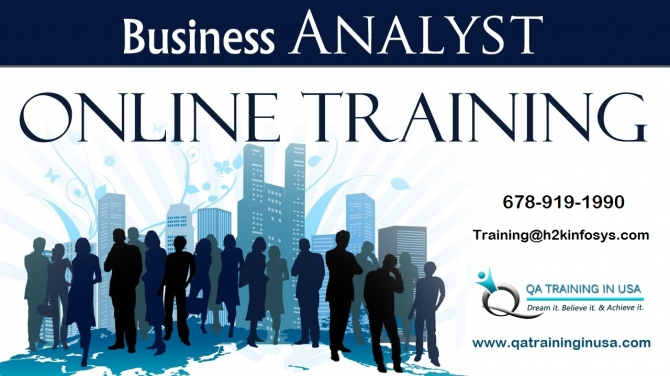 Business Analyst Online Training in USA with Job Support