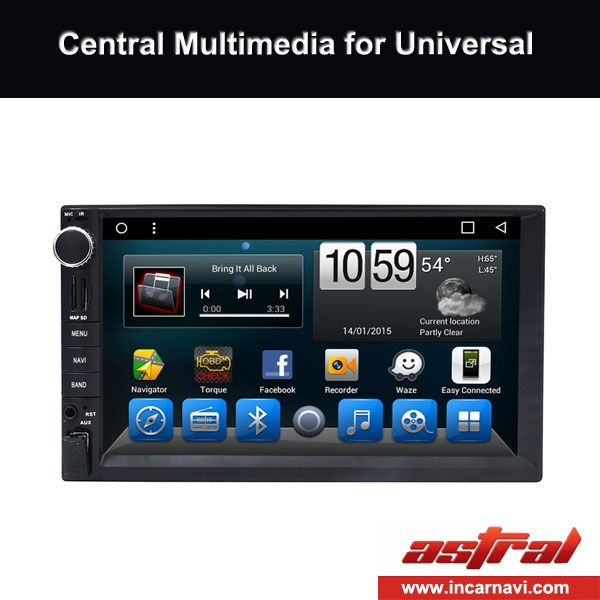 7 inch Universal DVD Double Din Stereo Professional Global Supplier Manufactory In China