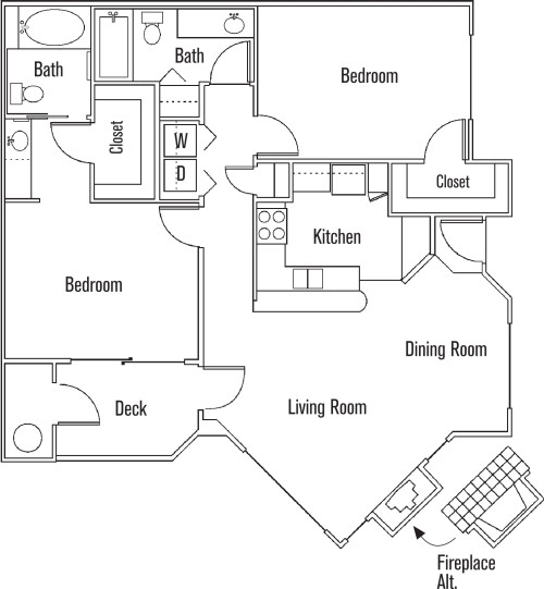 Apartment, 1,065 sq. ft. $2,775mo - in a great area. Pet OK!