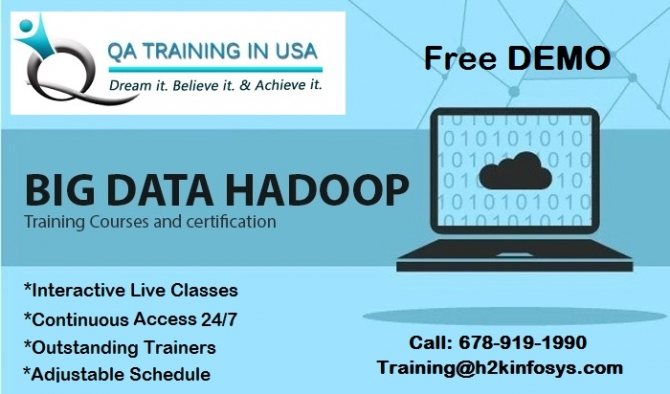 Big data and Hadoop training in USA with Job Assistance