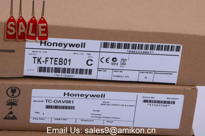 HONEYWELL	CC-PDOB01 51405043-175	NEW In factory packaging