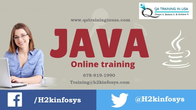 Java Online Training in USA with Job Assistance