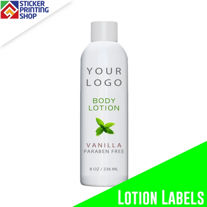 Custom Lotion Labels amp; Bottle Labels Wholesale Printing Services
