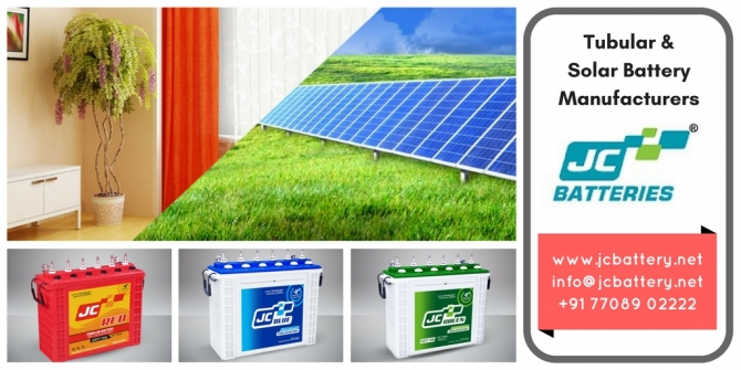 Solar Battery Manufacturers | Solar Rechargeable Battery