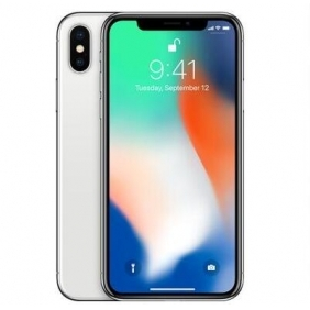 Apple iPhone X 256GB Silver Unlocked Phone