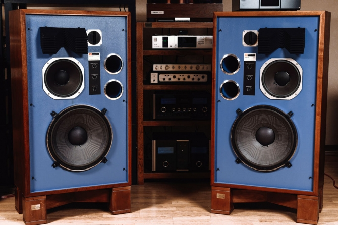 Original studio monitors JBL 4344