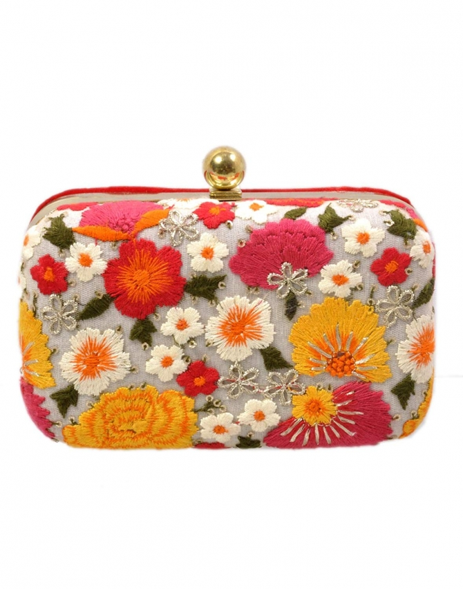 We Have All Type Hand Bag  Wedding Clutch.